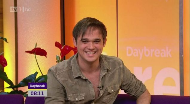 Gareth Gates appeared on Daybreak this morning (ITV)