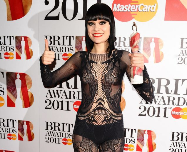Jessie J hasn't been given her award yet but already has vowed to change the British music scene