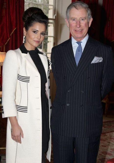 Cheryl Cole Prince Charles