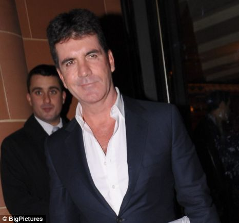 simon cowell x factor facebook