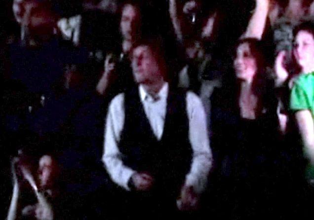Paul  McCartney and girlfriend Nancy Shevell dance to Lady Gaga