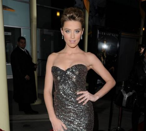 Amber Heard attends the premiere of Drive Angry 3D (Getty Images)