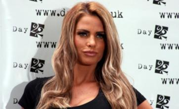 Katie Price kisses Jamie Foxx but 'lusts after Mark Wright'
