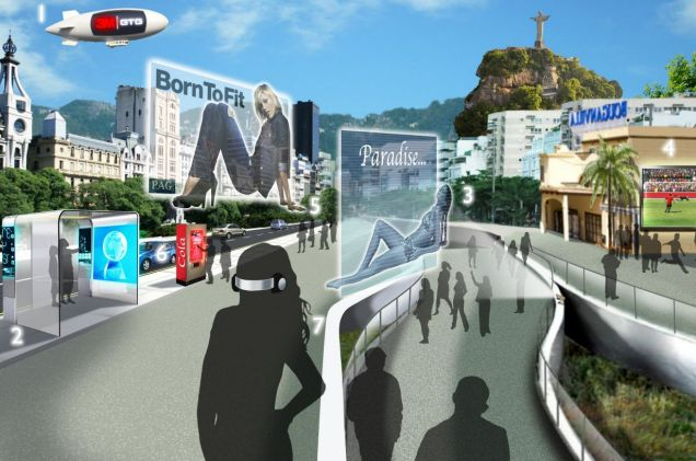 Interactive vision: An artist's impression of the advertising revolution
