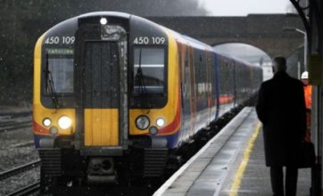 Delayed: South West Trains (Picture: Getty)
