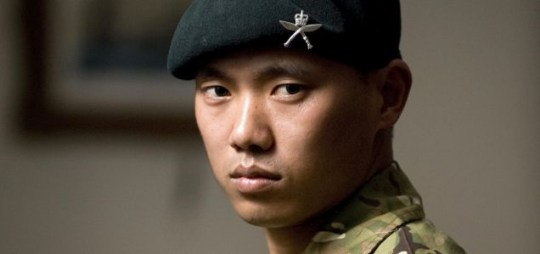 Courage: Acting Sergeant Dipprasad Pun of the Royal Gurkha Rifles, who came under fire for 15 minutes (PA)