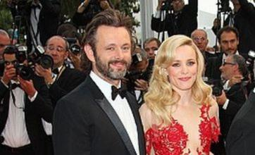 Michael Sheen and Rachel McAdams step out for first time at Cannes