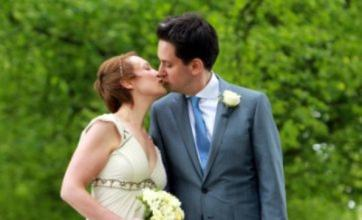 Ed Miliband gushes about 'beautiful and generous' wife on wedding day
