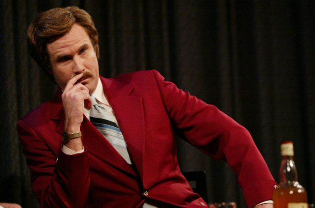 Will Ferrell starred in Anchorman: The Legend of Ron Burgundy (Getty)