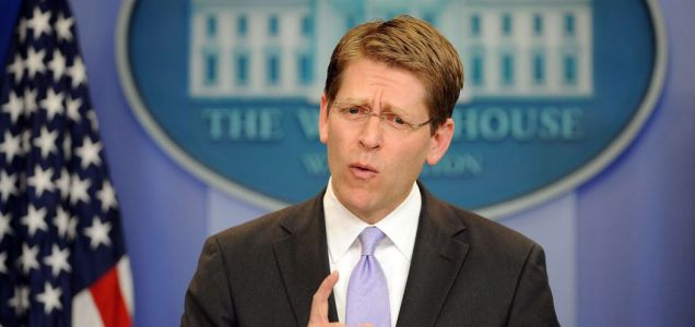 US Press Secretary Jay Carney