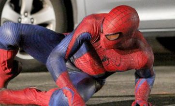Spider-Man 4: Andrew Garfield flips into action as he films his own stunts