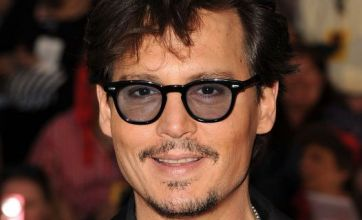 Johnny Depp goes casual at Pirates of the Caribbean premiere