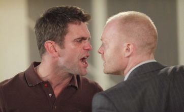 EastEnders saw a punch-up between Jack and Max