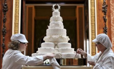 Royal wedding fan pays £500 on eBay for Prince William and Kate's cake
