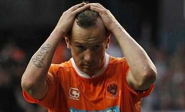Charlie Adam and DJ Campbell in Blackpool bus row
