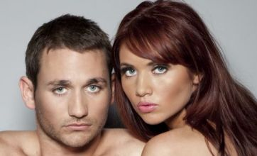 Amy Childs unveils new boyfriend as she strips naked for sexy shoot