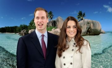 Prince William and Kate leave for honeymoon – but is it the Seychelles?