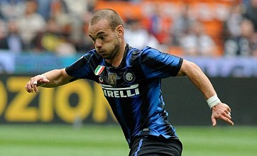 Manchester City 'target Wesley Sneijder and Kaka' in summer raid