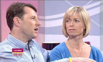 Kate and Gerry McCann write to David Cameron for support in Maddie search