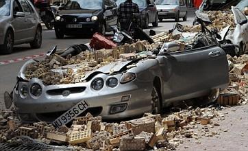 Spain earthquake: Thousands flee town of Lorca