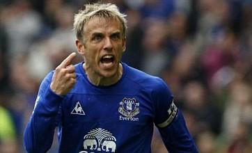 Everton's Phil Neville targets toppling Tottenham in Premier League finale
