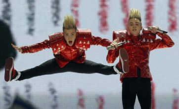 Eurovision 2011: Jedward and Blue perform to rapturous applause in Dusseldorf