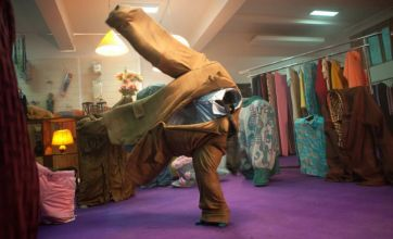 Secret of 'dancing clothes' Cadbury advert revealed