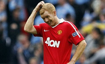 Paul Scholes may retire, admits Manchester United's David Gill