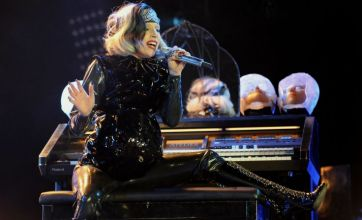 Lady Gaga pays tribute to Kate and Wills at Radio 1's Big Weekend