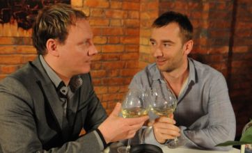 Corrie: Anthony and Mark get back together, 'Colin' gets outed as John
