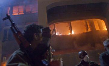 Libyan minister defects as Nato pounds Gaddafi