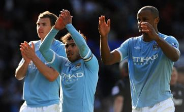 Edin Dzeko proves worth against Bolton as Man City secure third place