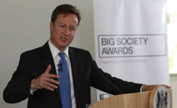 David Cameron's Big Society announcement welcomed by charities