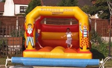 Bouncy castle 'blows away' in Yorkshire, leaving three children hurt