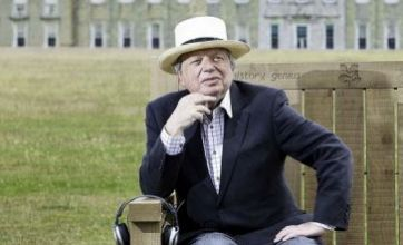 Stephen Fry and John Sergeant lend their voices to talking benches