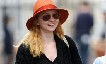 Lily Cole relaxes during her end-of-year exams at Cambridge
