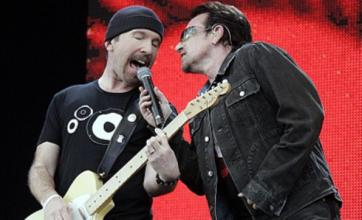 U2's Glastonbury show to be targeted by tax protesters Art Uncut