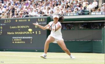 Maria Sharapova urges Laura Robson to develop her talent