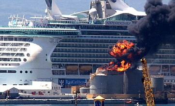 Gibraltar fuel depot blast: 12 cruise ship passengers injured