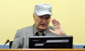 Ratko Mladic dismisses 'monstrous' charges during war crimes tribunal