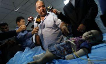Libyan girl 'hurt in Nato strike' was actually injured in car crash