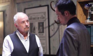 EastEnders: Michael tells Eddie to 'sling yer hook'