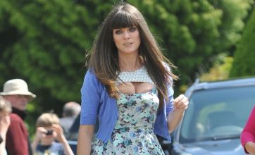 Did Lily Allen's sister Sarah Owen try to upstage the bride on her wedding day?