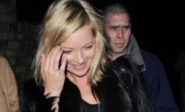 Kate Moss drops out of her own hen party on second day
