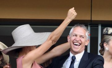 Gary Lineker on to a winner with wife Danielle at Royal Ascot
