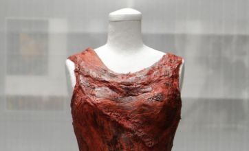Lady Gaga's controversial meat dress to go on show in Hall of Fame