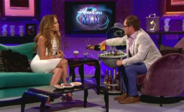 Jennifer Lopez serenades Alan Carr for his 35th birthday