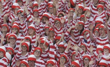 Thousands dress up as Where's Wally character to break world record