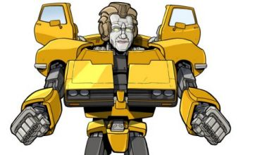 TOWIE's Nanny Pat turned into Ford Capri Transformer