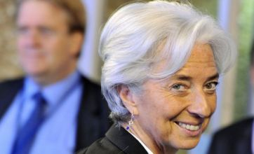 Christine Legarde replaces Dominique Strauss-Kahn as IMF head